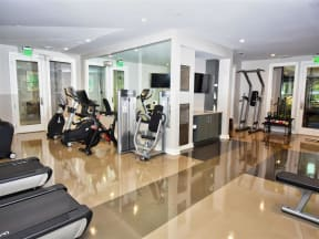 State of the Art Pointe at Lake CrabTree Fitness Center in Morrisville, North Carolina Apartment Rentals