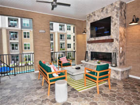 Large Private Patios & Balconies at Pointe at Lake CrabTree Apartment Rentals for Rent in Morrisville, NC