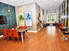 Classic Pointe at Lake CrabTree Dining Area in Morrisville, NC Apartments