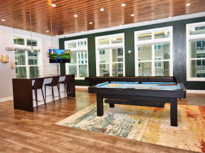 Fun Pointe at Lake CrabTree Billiards Room in Morrisville Rental Homes