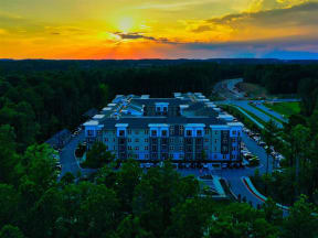 Sunset View at Pointe at Lake CrabTree Apartment Homes for Rent in North Carolina