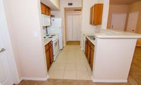 Portofino Senior Apartments Kitchen