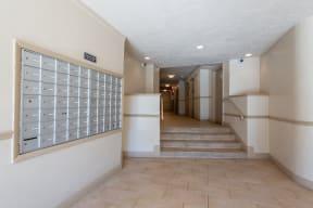 Apartment Entrance at Sarbin Towers, Washington