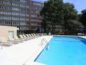 Swimming Pool and Seating