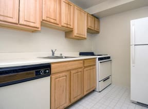 Kitchen at Sussex Square, Suitland, MD,20746
