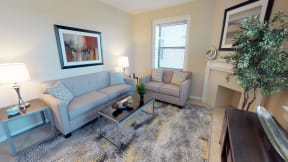 The Mount Royal - Living Room