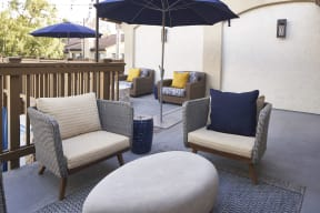 Private Patios/Balconies at The Knolls, Thousand Oaks