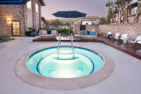 Resort Inspired Pool and Spa at The Knolls, California, 91362