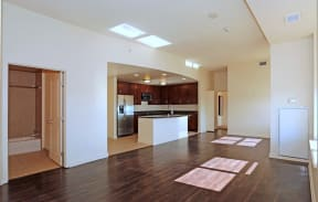 Living Area  l Penthouse at Capitol Park