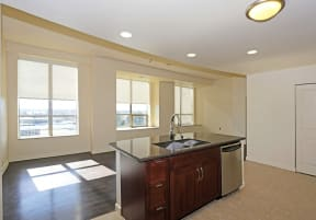 Kitchen l Penthouse at Capitol Park
