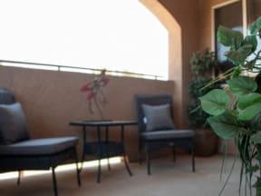 Patio l  l Vineyard Gate Apartments in Roseville CA