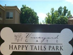 Pet Park l Vineyard Gate Apartments in Roseville CA