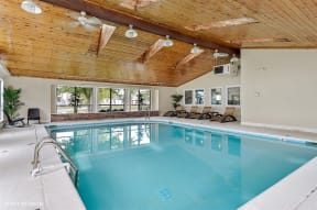 Private Swimming Pool, at Suncrest Apartment Homes, Indianapolis, IN