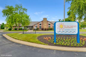 Beautiful Entryway, at Suncrest Apartment Homes, Indiana, 46241