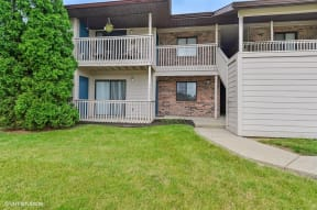 Beautifully Decorated Backyard, at Suncrest Apartment Homes, 46241, IN