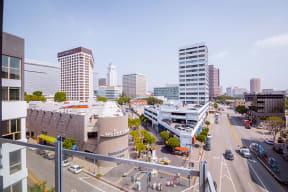 Wakaba LA - Balcony View
