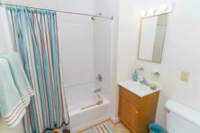 Bondale Apartments in Norfolk VA bathroom