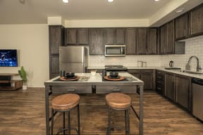 Kitchen l Metro 510 Apartment for rent in Riverside Ca