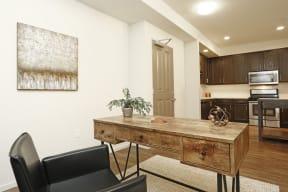 View to kitchen l Metro 510 in Riverside Ca