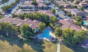 Aerial  View of Property at The Colony Apartments, 351 N Peart Rd, Casa Grande, AZ