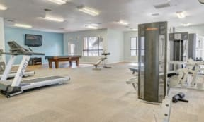 Fully Equipped Fitness Center at The Colony Apartments, Arizona, 85122