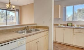 Dishwasher & Refrigerator at The Colony Apartments, 351 N Peart Rd, Casa Grande, AZ