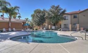 Resort-Style Pool at apartments in Casa Grande, AZ