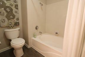 Bathroom l Oak Brook Apartments in Rancho Cordova CA