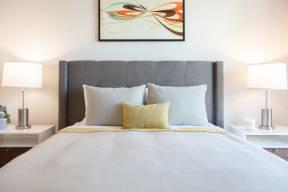 Luxury Two-Bedroom Apartments in Oakland, CA - 777 Broadway Bedroom