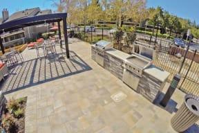 BBQ Area Apartments in Pittsburg, CA l Kirker Creek Apartments
