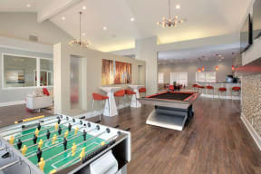 Game Room Apartments for Rent in Pittsburg -Kirker Creek in CA The Hub