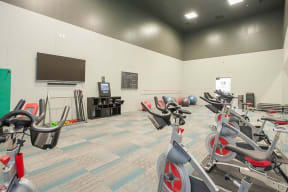 Gym with Fitness equipment Apartments in Pittsburg, CA l Kirker Creek Apartments