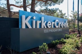 Monument Sign Apartments in Pittsburg, CA l Kirker Creek Apartments