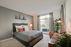 Bedroom l Revere Apartments in Campbell, CA