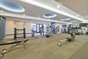 Gym l Revere Apartments in Campbell, CA