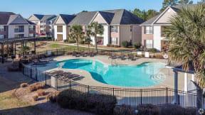 McArthur Landing Apartments Fayetteville, NC pet friendly renovated pool