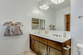 Renovated Bathrooms With Quartz Counters at Garfield Park, Virginia