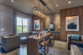 Coffee Bar and Hospitality Station at Retreat at the Flatirons, 13780 Del Corso Way, Broomfield