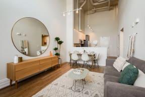 ModelHomes-Cozy Living Rooms