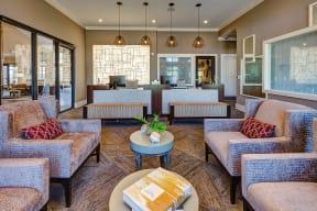 Resident seating at Windsor at Pinehurst, 3950 S Wadsworth Blvd, 80235