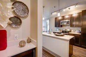 Chef inspired kitchen at Windsor at Pinehurst, Lakewood, CO