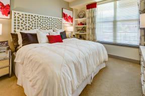 Carpeted bedroom at Windsor at Pinehurst, CO, 80235
