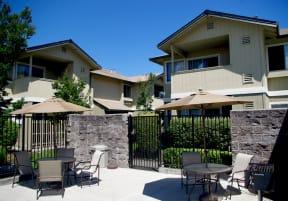 Pool Seating l The Meadows Apartments in Santa Rosa CA