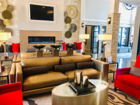 community lounge area for apartment building in round rock tx