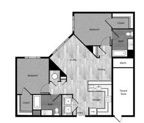 Floor Plan B6bP - Phase 1
