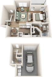 Pine Island Floorplan