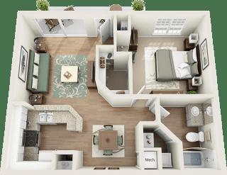 Pompano Floor Plan