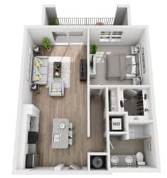 A5 Floor Plan at Inspira, Naples, Florida