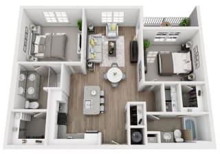 B2 Floor Plan at Inspira, Naples, FL