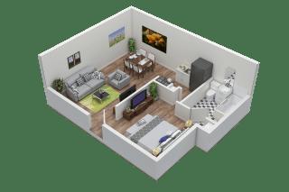 Floor Plan Super Studio